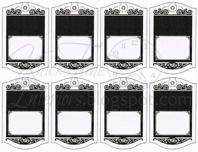 Blank Printable Tags: Printable Hang Tag Gift Tags