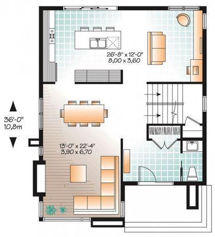 Ideas para construir casas pequeñas, novedosas alternativas con planos y fachadas. Descubre nuevas tendencias y alternativas de distribuciones de ambientes interiores que aportaran ideas para la construcción de casas pequeñas, veremos diez diseños...