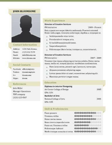 Resume Templates Unique #resume #ResumeTemplates #templates #unique