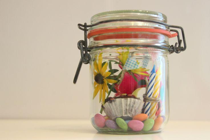 Geburtstag im Glas  Ideen im Glas  Geschenke im glas