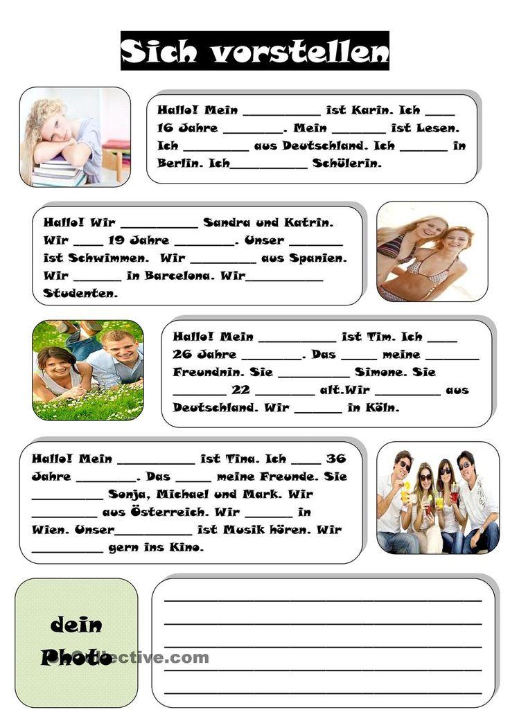 103 best 1 klasse images on Pinterest | German grammar, German ...