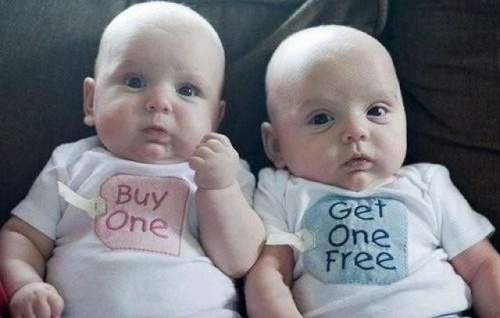 If I ever have twins, I shall make these...
