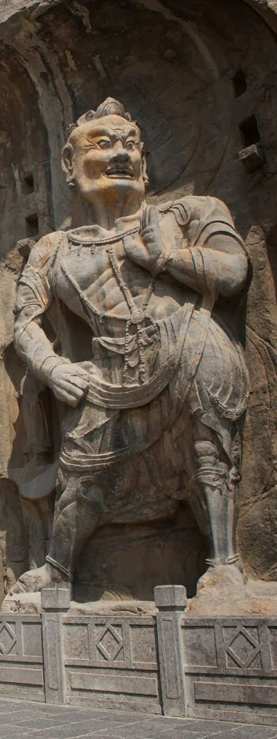 The Longmen Grottoes or Longmen Caves - UNESCO World Heritage Site - Luoyang Henan   China