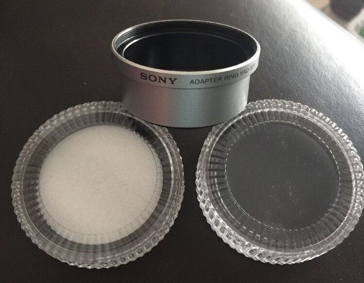 Sony VAD-S70 45mm to 52mm Lens Adaptor Ring Plus ND 8 52mm And Protector 52mm 27242570269   eBay