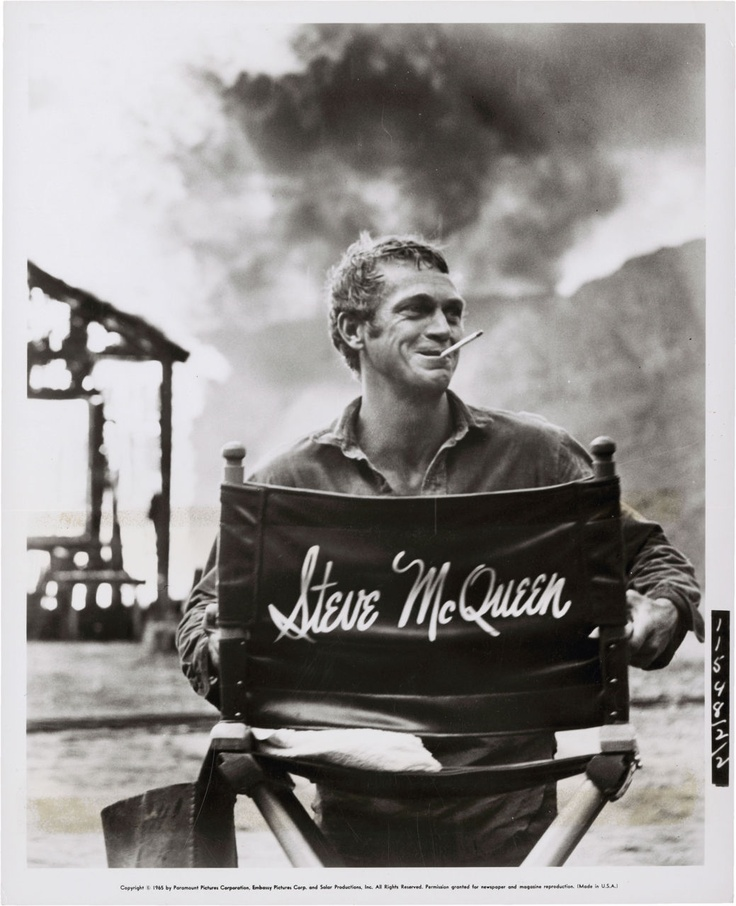 Sexy type and Steve McQueen, it's enough to make this girl keel over.