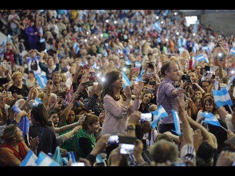 #DiadelJubilado Cristina Kirchner en Lomas de Zamora - YouTube