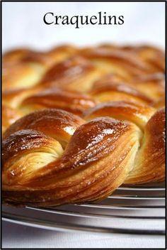 Les craquelins de Manue (pâte feuilletée levée sucrée et tressée) - Blog de cuisine créative, recettes / popotte de Manue