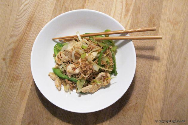 EGOSHE.dk - En madblog med South Beach opskrifter og andet godt...: Lyn-wok med kylling