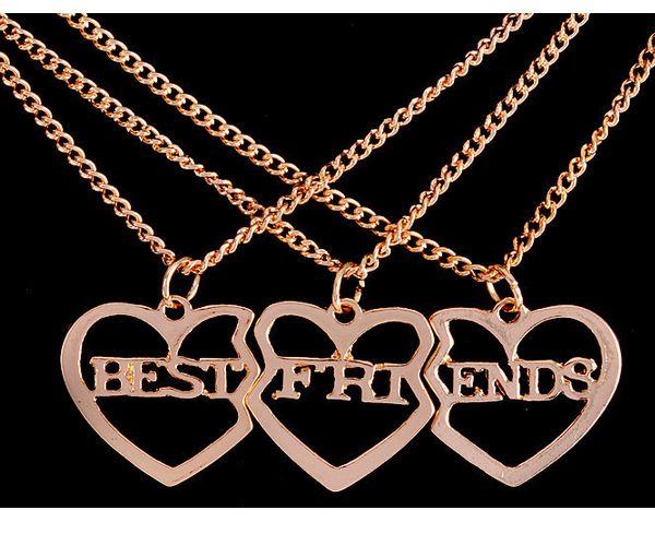 3 Part Best Friend Forever Necklace