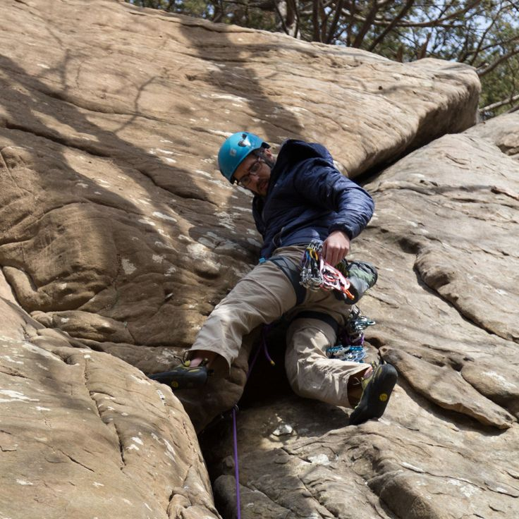Rock climbing risk management is all about the successful evaluation of risk/reward within the contact of your larger goals.