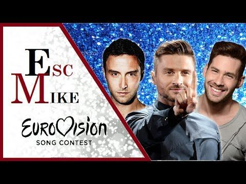 Awesome Videos: Eurovision Most HANDSOME Men - My Top 30 [2000 - 2...