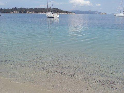 Fanari beach in Meganisi, Lefkada