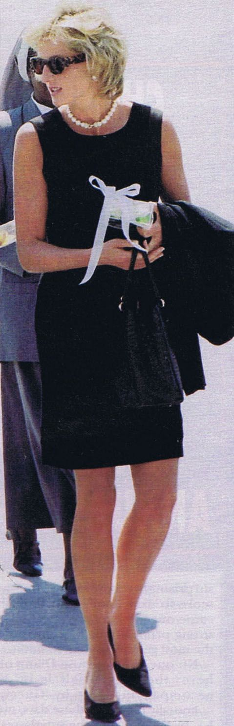 Diana would still be in style today! Her taste was ahead of her time!