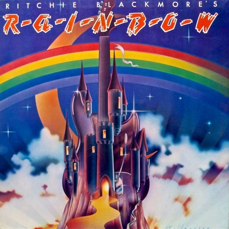 Rainbow - Ritchie Blackmore's Rainbow on LP
