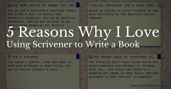 How I Use Scrivener to Write a Novel Part One