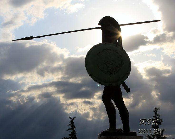 #Leonidis Monument #Thermopolye #300 #MolonLabe #visitgreecegr