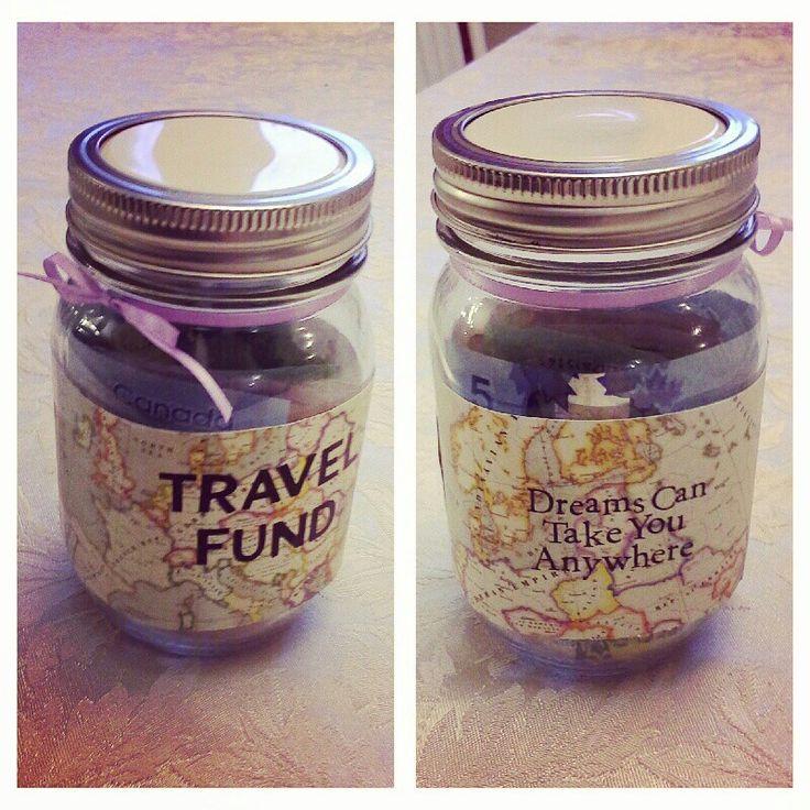 DIY travel fund jar for Europe!