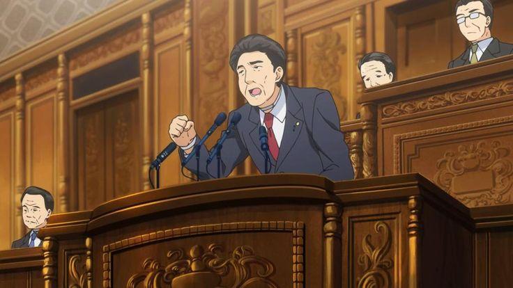 今期アニメ「下ネタという概念が存在しない退屈な世界(下セカ)」では、表現規制の悪法を通す政治家として、安倍晋三と麻生太郎(に似た誰か)が登場。こんなご時世だからこそロックだぜ。