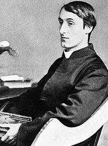 """Gerard Manley Hopkins, 1844-1889, (Br.) poet. """"Pied Beauty,"""" """"God's Grandeur."""""""