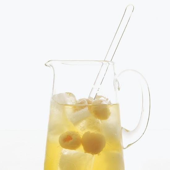 stir lychees + sake into white sangria • shinsei, dallas • food and wine