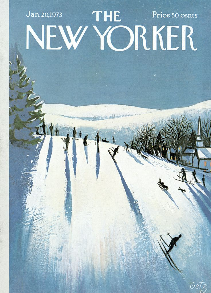The New Yorker - Saturday, January 20, 1973 - Issue # 2501 - Vol. 48 - N° 48 - Cover by : Arthur Getz