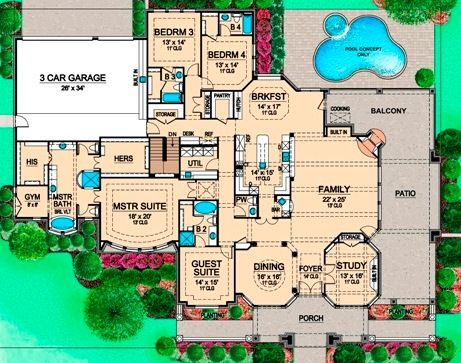 703 best House Plans images on Pinterest House floor plans