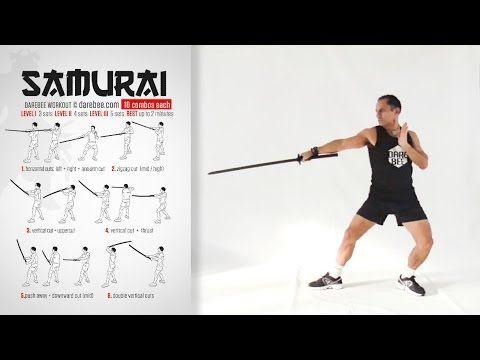 Katana Week: Samurai Workout - YouTube