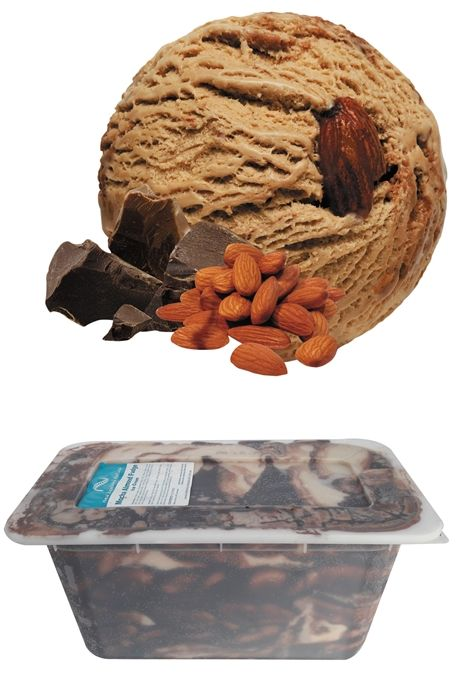 Mocha Almond Fudge - 6L  #mochaicecream #mocha #icecream #newzealandicecream #newzealand