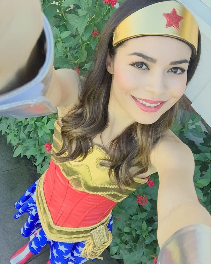 "211.8k Likes, 2,320 Comments - Miranda Cosgrove (@mirandacosgrove) on Instagram: ""Wonder Woman"""