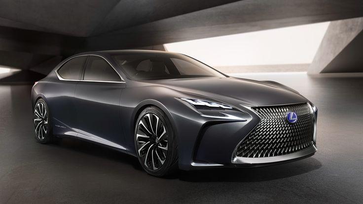 2015 Lexus LF-FC Concept  http://www.wsupercars.com/lexus-2015-lf-fc-concept.php