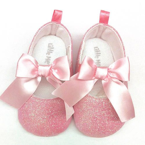 me glittler light pink with bow