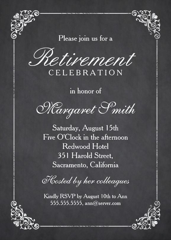 18 best Retirement Party Ideas images on Pinterest Retirement - farewell party invitation template