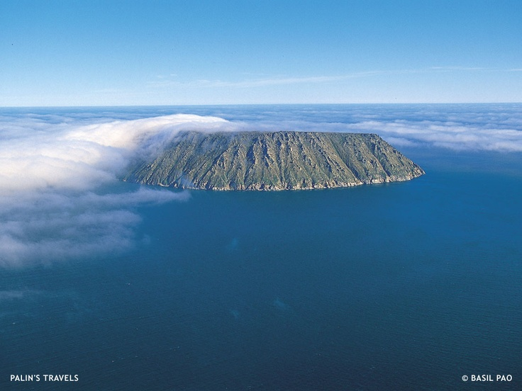 Little Diomede Island, AK (On The Border Of Russia and US)