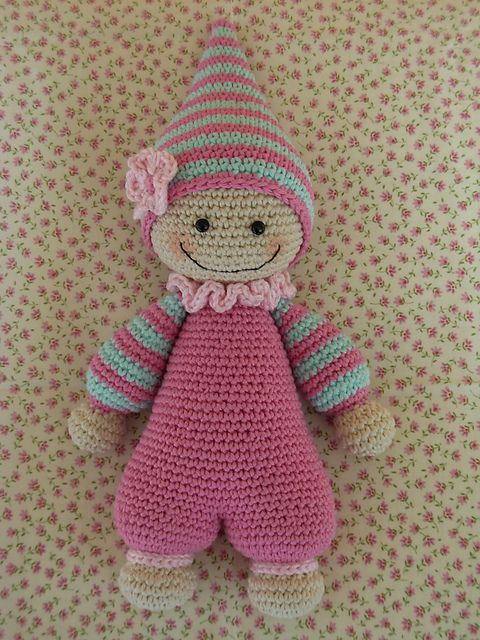 Crochet Doll Pattern Cute : Ravelry: Cuddly-baby - amigurumi doll pattern by Mari-Liis ...