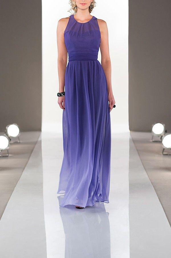 Love this ombre bridesmaid dress by Sorella Vita!