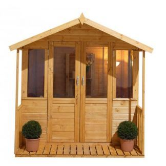 find forest epsom summerhouse with veranda x at homebase visit your local store for the widest range of garden products