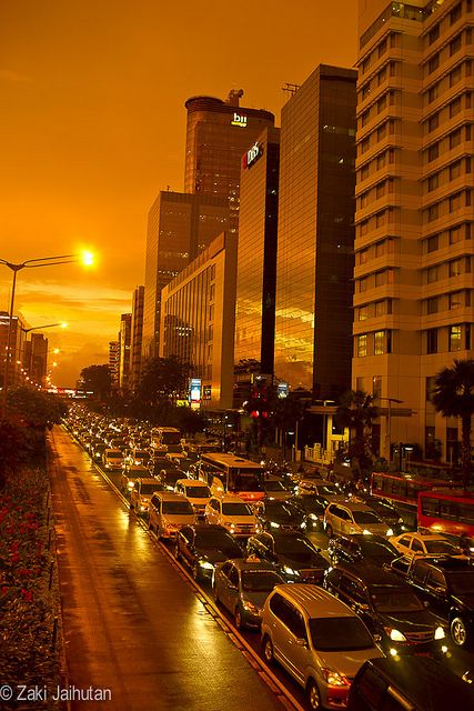 After The Rain In Thamrin, Jakarta