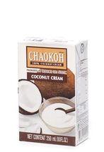 Chaokoh Brand Кокосовые сливки. Вегетарианская еда