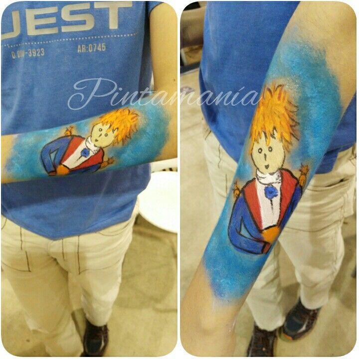 El principito body paint