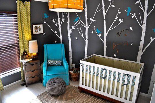 Paint Color Portfolio: Dark Gray Nurseries