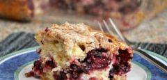 Lemon Blackberry Coffee Cake with Lemon Streusel « Baking Bites
