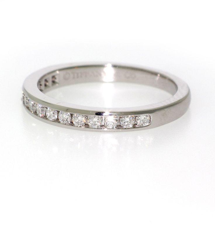 Tiffany & Co. Diamond Anniversary ring in Platinum