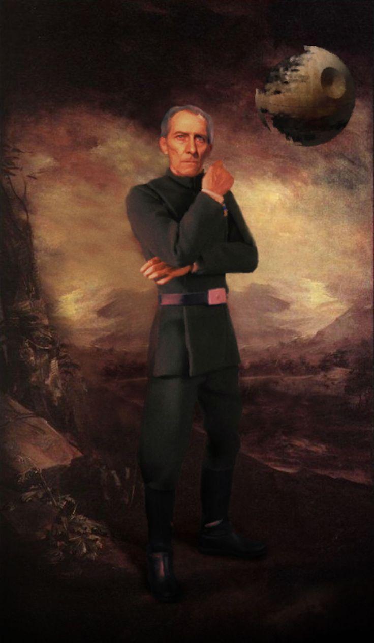 du star wars dans des peintures celebres sir john tarkin