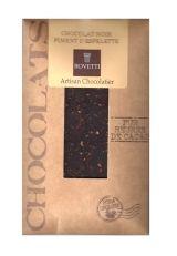 Bovetti 25g. Ciocolata neagra cu Espelette