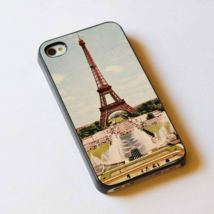 Postcard paris For Apple Phone, IPhone 4/4S Case, IPhone 5 Case, Cover Plastic
