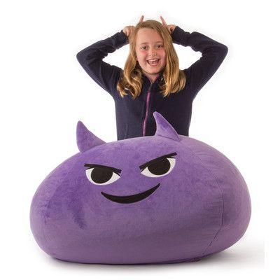 GoMoji Mischief Emoji Bean Bag Chair