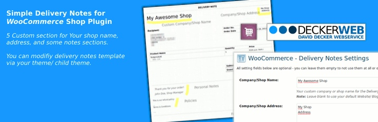 WooCommerce Delivery Notes -- see plugin here http\/\/wordpress - delivery note template word