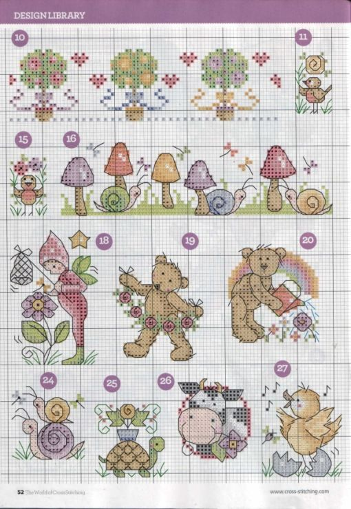 (13) Gallery.ru / Фото #30 - The world of cross stitching 225 - tymannost