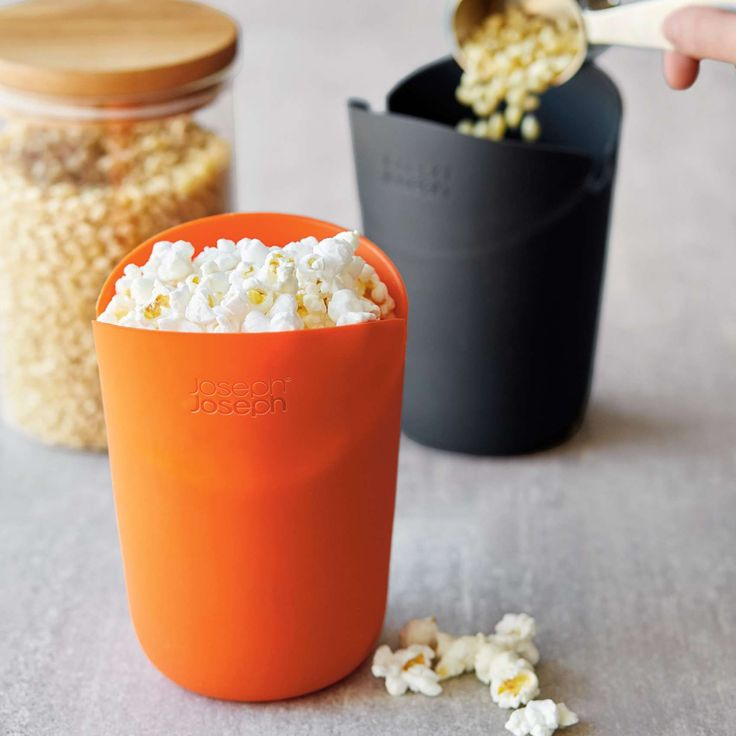 Joseph Joseph M-Cuisine Microwave Single-Serve Popcorn Maker, Set of 2 | Sur La Table