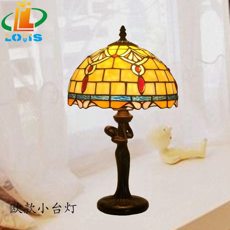 continental mermaid bedroom bedside lamp tiffany lamps for children